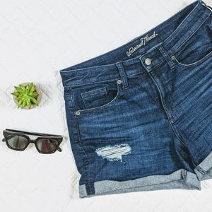 Universal Thread Cuffed Jean Shorts High Rise